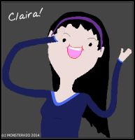 Claira! (OG Adventure Time Character) 2 by MonsterH2O