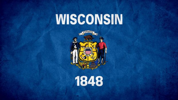 Wisconsin State Flag by SyNDiKaTa-NP