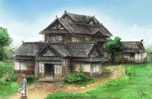 Commission - House by MeganeRid