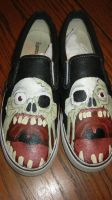 zombie shoes by devpose