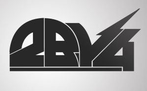 2by4 Logo by my-name-is-annie