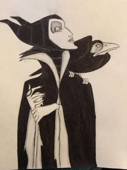 Maleficent sleeping beauty by conwaysuccess