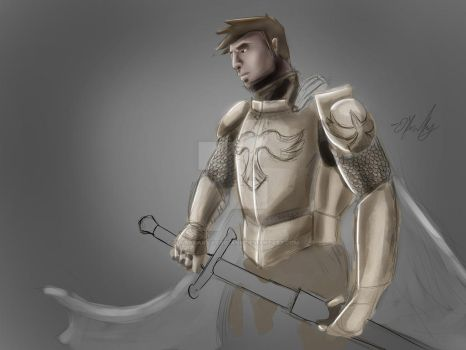 Knight (Updated) by BlankCanvasIsBlank