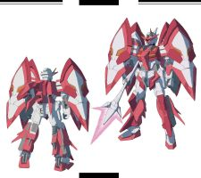 Gundam SEED A-STAR - FTX-03 ARUPHAM by csy5150