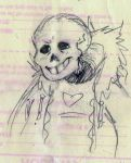 Sans Sketch by AwesomeAria