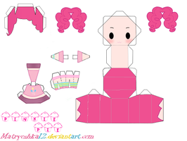 Pinkie Pie My little pony Papercraft by matryoshka12