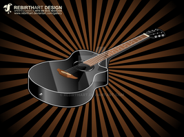 Vector guitar by RebirthArt