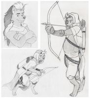 Rourkie Patreon Commissions June 2015 by Jaymzeecat