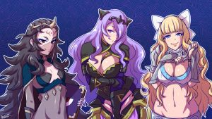 nohr ladies by akairiot
