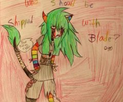 Who should be shipped with Blade? 030 by FallenAngelKayaxx5