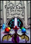 Purple Dawn: The Rise of Malefor - COVER by ElusiveBlaze