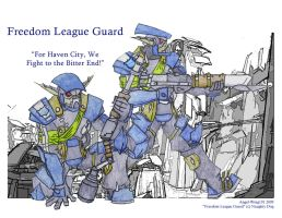 Freedom League Guard by Angel-Wing101