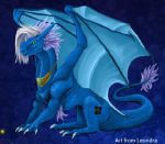 Dragon blue by BajecznaMirra
