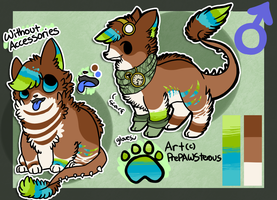 :Ref Sheet for Okoe: by PrePAWSterous