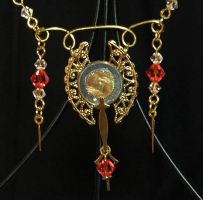 Victorian Elegance necklace by Anthyslily