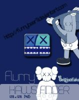 Kaws Finder Flurry 2011 by FunnyBear11