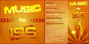Music of ISS - CD Album Cover by X100-Styles