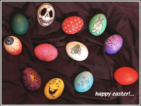 Easter eggs 2010 by RandyHand