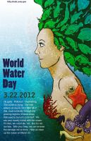 Fake Poster: World Water Day by teen-artlover