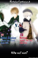 Hetalia Fantasia 2 Igi vs Nor by luzzy