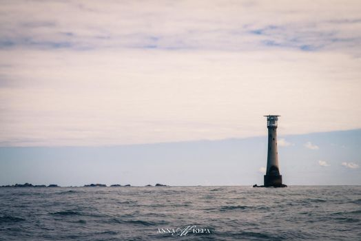 Lonely Lighthouse by Zin-Carla