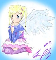 Cute angel by TheReza13