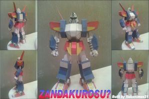 Zandakurosu Papercraft Finished by rubenimus21