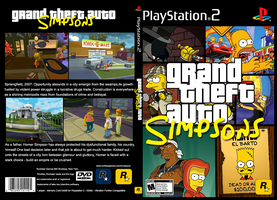 Grand Theft Auto Simpsons by lordhanzo