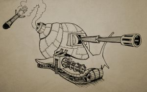 attack of the killer snail by EsbenBonde