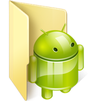 Windows 7 Android folder Icon by AcidCrashLv