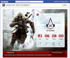 Countdown for Assassin's Creed III by ArteF4ct