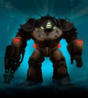 Bioshock Big Daddy Concept by Airickz