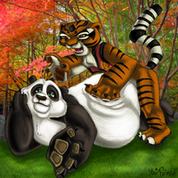 Kung Fu Panda by GhettoRainbowCat