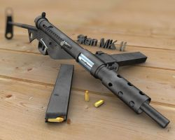 Sten MK II Textured by Vikingheretic