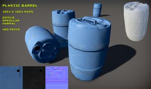 Free Plastic Barrel pack by Nobiax