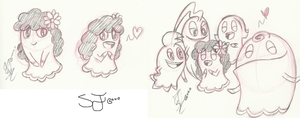 .:Lady Sylvie doodles:. by Papiwolffox640
