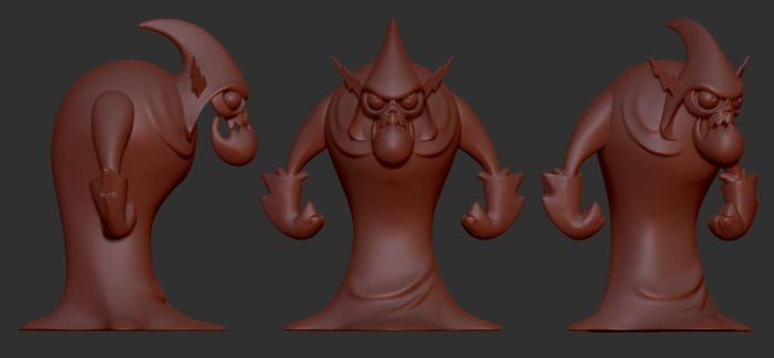 Lord Hater Sculpt by clanaghan