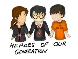 Heroes of our generation by RedCloudRebel441