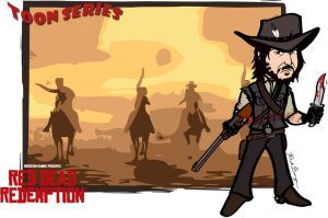 John Marston - Red Dead Redemption by toonseries