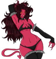 Succubus by PolkaDottedBoxers