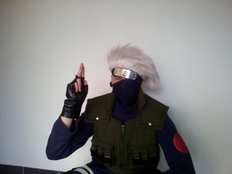 Do the Pose Kakashi! by IDanTheManI