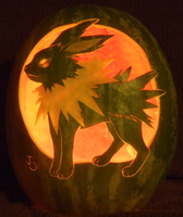 Jolteon Watermelon Lit Version by johwee