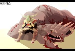 Monster Hunter Tri by macawnivore