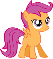 Scootaloo Vector by Alphanz