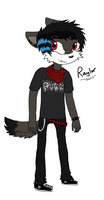 Raylor The Wolf .:Ref:. by TinyWolfy