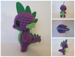 Crochet Spike by TheBronyfluff