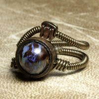Steampunk Jewelry Ring Y by CatherinetteRings