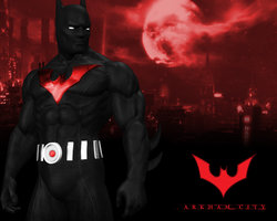 Batman Beyond (Beyond style) by BatmanInc