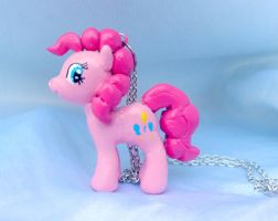 Pinkie Pie Necklace: Contest Giveaway Closed by werewolfshadow29