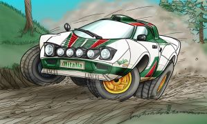 Lancia Stratos WINS by R0tti
